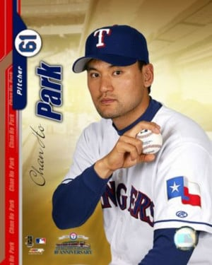 Chan-Ho Park is the name of a famous baseball player: