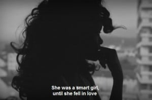 fell in love, love quote, music, quote, rihanna, till, tumblr, she was ...