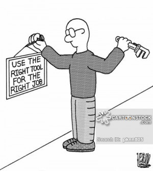 Right Tool cartoons, Right Tool cartoon, funny, Right Tool picture ...