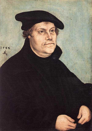Martin Luther 95 Theses English Version ~ Biography of Martin Luther ...