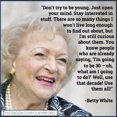 ... time gray hair ageless beautiful betty white white ooo older women
