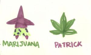 weed marijuana smoke ganja cannabis spongebob Smoking patrick