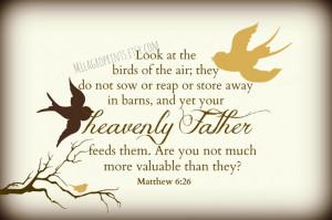 Birds Bible Verses And...
