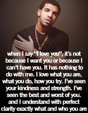 Do you like Drake?