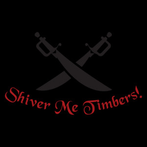 Shiver Me Timbers Wall Quotes™ Decal