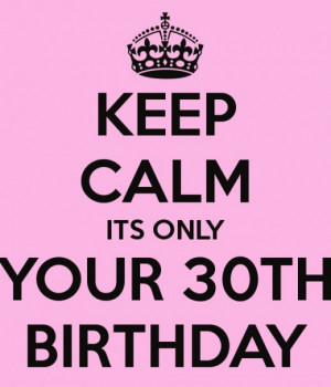 Funny Birthday Quotes For Women Turning 30