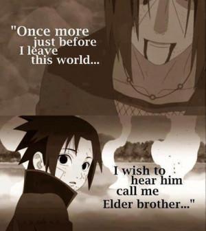 anime-chans:Sasuke and Itachi