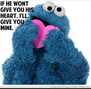 Aww Cute Cookie Monster