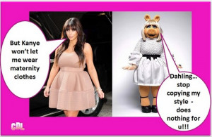 ... Pregnant Maternity Style Scandal – Looks Like Miss Piggy? (Photos