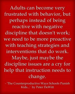 School discipline