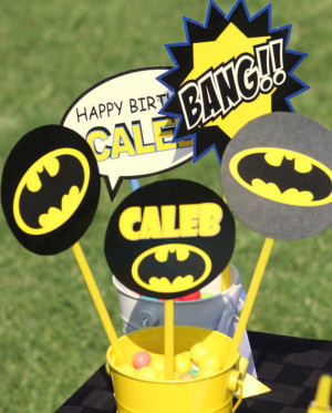 Quotes - Superheroes Party - Boys Birthday Party - Super Hero - Batman ...