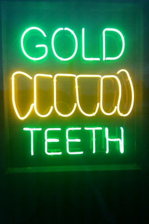 photography art quote Gold Teeth MASTER P