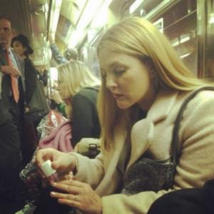 Celebrities On The Train: Keanu Reeves, Jake Gyllenhaal, Drew ...