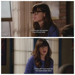 Displaying (19) Gallery Images For New Girl Quotes...