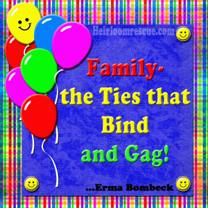 This Erma Bombeck Quote is made with the Birthday Bash digital kit ...