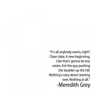 ... nothing at all meredith grey on grey s anatomy grey s anatomy quotes