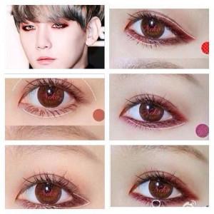 tutorial kpop makeup exo kpop korean makeup exo baekhyun exo makeup k ...