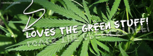 Trippy Weed Facebook Covers Green stuff facebook cover