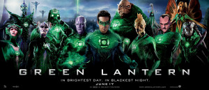 Green Lantern - Green Lantern Corps Theatrical Banner