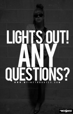 Lights Out, Any Questions? - Jay-Z and Beyonce - Quotes, Sayings and ...