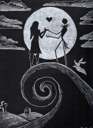 Nightmare Before Christmas Jack And Sally Quotes The nightmare before ...