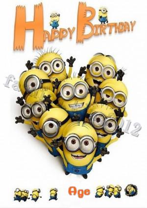Minion Happy Birthday to Me