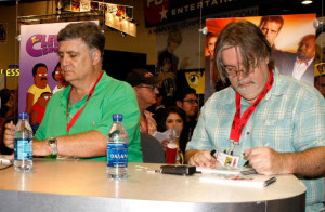 Maurice LaMarche - Matt Groening - Futurama - Michael Buckner/Getty ...