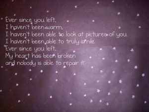 Sad Heartbreak Quotes Sad Quotes Tumblr About Love That Make You Cry ...