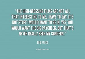 Edie Falco Quotes