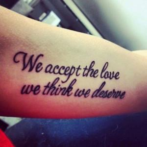 30 Best Perks of Being a Wallflower Tattoos!