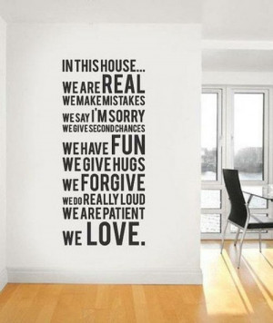 In This House – Love Quote