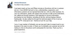 Customer Feedback Thank You