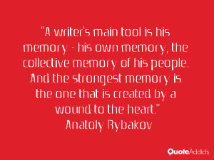 Quotes by Anatoly Rybakov