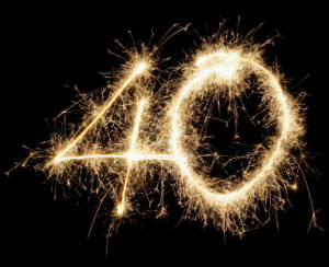 40 For 40: Top 40 Life Lessons On My 40th!