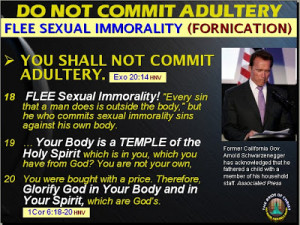 ADULTERY is a more serious sin before God, such that it could result ...