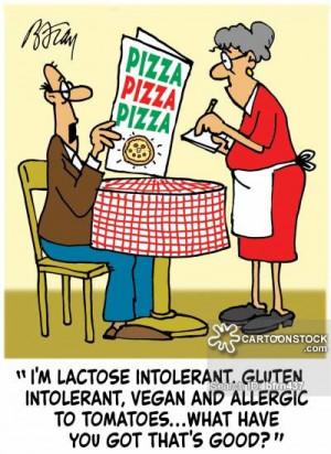 Gluten Allergy cartoons, Gluten Allergy cartoon, funny, Gluten Allergy ...