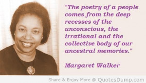 Margaret Walker Image Quotes And Sayings 5 Margaret Walker Image ...