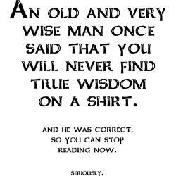 wisdom_shirt_funny_tshirt_business_card_case.jpg?height=250&width=250 ...