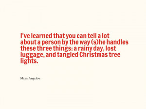 Maya Angelou Quotes Christmas. QuotesGram