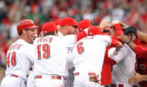 may 4 2014 cincinnati oh usa cincinnati reds 3rd baseman todd frazier ...