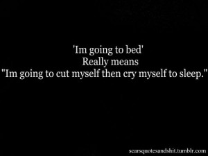 ... About Crying Tumblr , Tumblr Quotes About Crying Yourself To Sleep