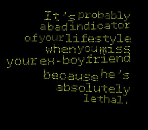Missing Your Ex Boyfriend Quotes