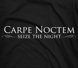 Carpe Noctem (Seize the Night) t-shirt