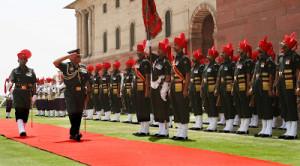 GENERAL VIJAY KUMAR SINGH RETIRES FROM ARMY