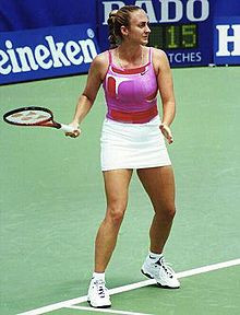 Mary Pierce en 2003