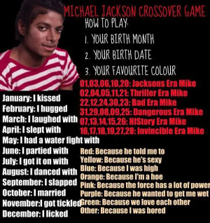 Michael Jackson MICHAEL JACKSON CROSSOVER GAME(REALLY FUNNY :D)