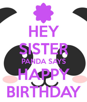 Happy Birthday Phat Panda...