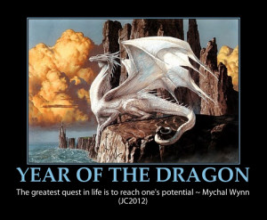 Dragon inspirational quote-beautiful-year of the dragon