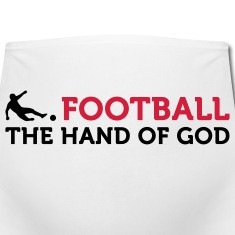 football quotes the hand of god t shirts