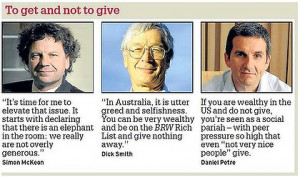 Philanthropy is big business - except in corporate Australia
